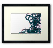 360 Over Framed Print