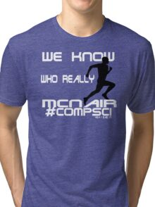 Comp Sci Run Mcnair Tri-blend T-Shirt