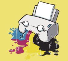 Puker Printer Kids Clothes
