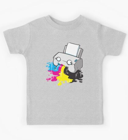Puker Printer Kids Clothes