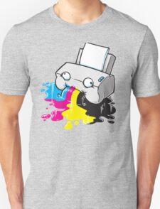 Puker Printer Unisex T-Shirt