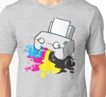 Puker Printer Unisex T-Shirt