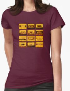 Cassettes Womens Fitted T-Shirt