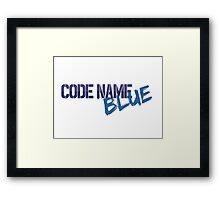 CNBLUE - Code Name Blue Clean Framed Print