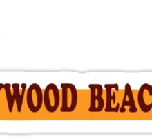 Hollywood Beach - Florida. Sticker