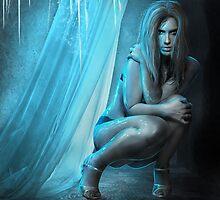 Embracing eternal cold by Amalia Iuliana Chitulescu