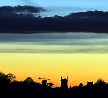 Clouds Over Aston-On-Trent by Sam Halford