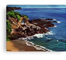 Keyhole Arch En Plein Air Canvas Print