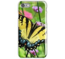 Yellow Tiger Swallowtail  iPhone Case/Skin