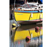 Yellow Boat Photographic Print