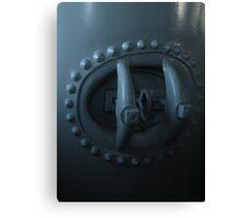 Elegant Pressure Valve on Steam Tank Canvas Print
