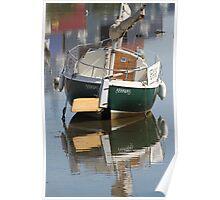 Little Green Boat Poster