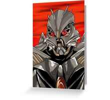 Movie Starscream Greeting Card