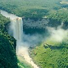 Kaieteur Falls Aerial View by Phil  Hatcher