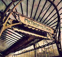 Metro Paris number 2 by Yann Pendaries