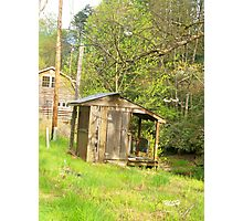 Old Shack Photographic Print