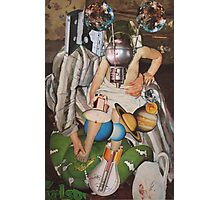 Snake Charmer on Ganymede. Photographic Print