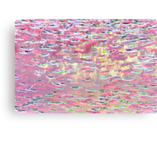 Underwater Abstract Gallery - Piece 10 (Pastel) Canvas Print
