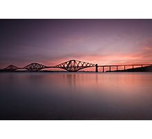 The Forth Rail Bridge Photographic Print
