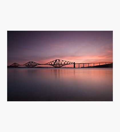 The Forth Rail Bridge Photographic Print