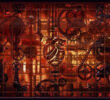 Steampunk Coronary Clockwork Gears by Fizzwhir