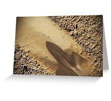 Mud Puddle - Langeland, Denmark Greeting Card