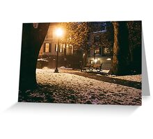 Providence at Night V Greeting Card