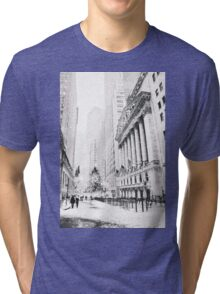 Christmas in New York City Tri-blend T-Shirt