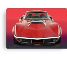 1969 Corvette Stingray VS1 Canvas Print