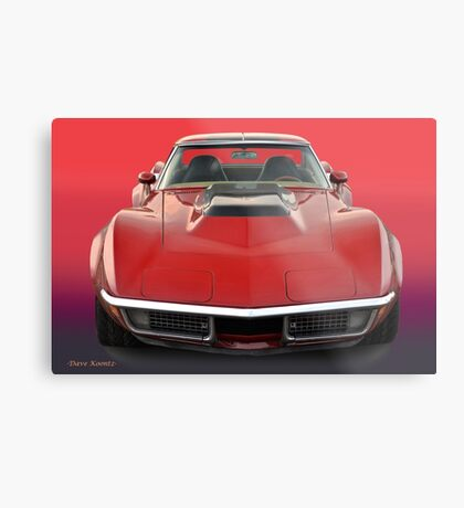 1969 Corvette Stingray VS1 Metal Print