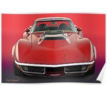 1969 Corvette Stingray VS1 Poster