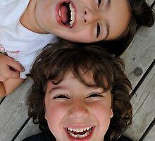 Happy Siblings by eleanor p.  labrozzi