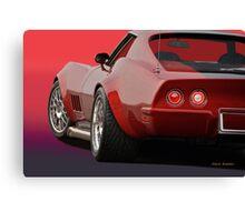 1969 Corvette Stingray VS2 Canvas Print