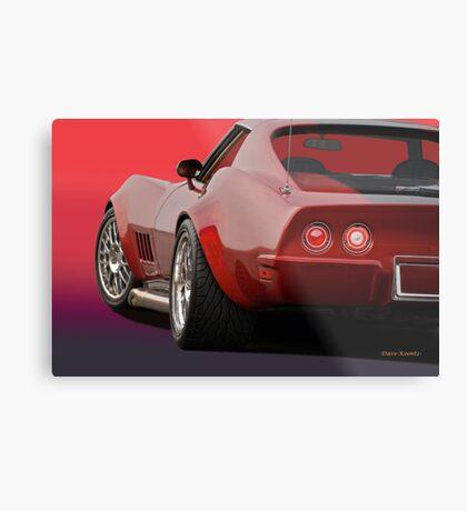 1969 Corvette Stingray VS2 Metal Print