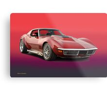 1969 Corvette Stingray VS3 Metal Print