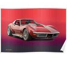 1969 Corvette Stingray VS3 Poster