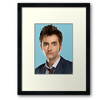 The 10th Doctor Who Framed Print