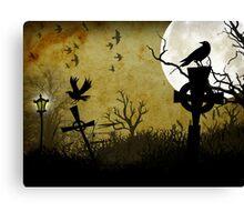 Nightbirds Canvas Print