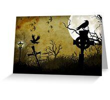 Nightbirds Greeting Card