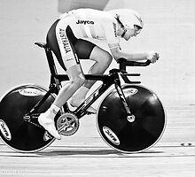 Michael Freiberg 2011 World Omnium Champion by Paul  Sloper