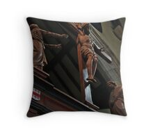 Greater Love hath no man Throw Pillow