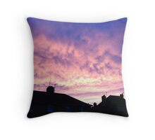 Tranquil Dawn. Throw Pillow