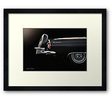 1956 Ford Thunderbird 'The Continental' I Framed Print