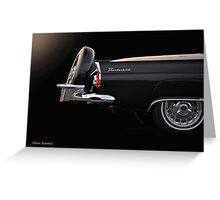 1956 Ford Thunderbird 'The Continental' I Greeting Card