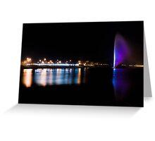 Big city lights Greeting Card