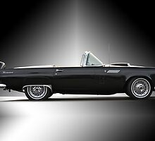 1956 Ford Thunderbird Convertible by DaveKoontz