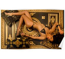 Stephanie in Baby Phat. Poster