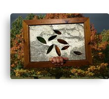 A Picture Of Autumn Canvas Print