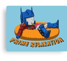 Prime Relaxation Canvas Print