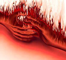 Hands on Fire by Atanas Bozhikov